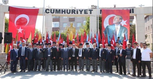 Darıca'da Gaziler Günü kutlandı