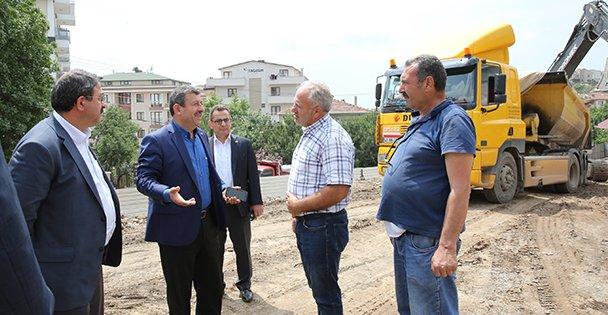 Darıca'da Kapalı Otopark ve Pazar Yeri Çalışmaları Başladı