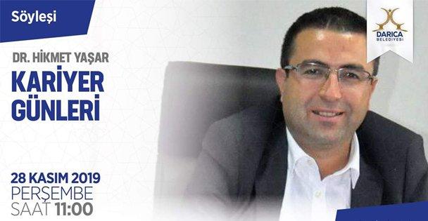 Darıca'da Kariyer Günleri Hikmet Yaşar ile devam ediyor