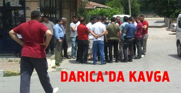 Darıca'da kavga: 1 yaralı