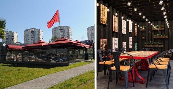 Darıca'da kış aylarının vazgeçilmez adresi; Balyanoz Cafe