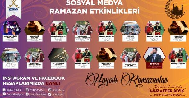 Darıcada Ramazan dolu dolu geçecek