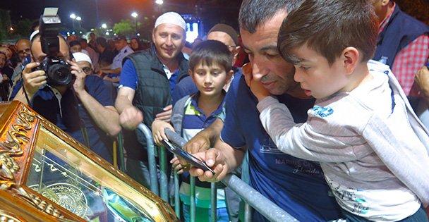 Darıca'da Sakal-ı Şerif ziyarete açıldı