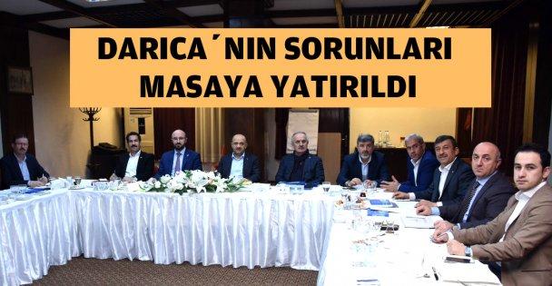 Darıca'daki projeler masaya yatırıldı