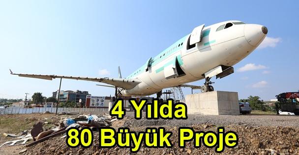 """Demirci, '4 Yılda; 80 Büyük Proje, 400 Milyonluk Yatırım"""""""