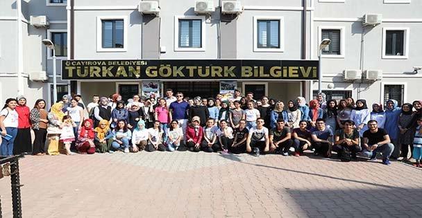 Demirci, Gençleri Diriliş Kampına Uğurladı