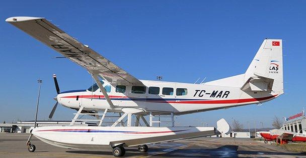 Deniz uçağı tüm Marmarayı denetleyecek