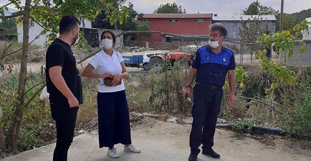 Dereyi kirleten fabrikaya 177 bin lira ceza kesildi
