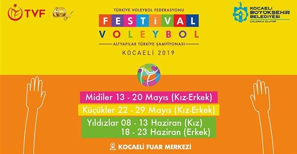 Dev Voleybol Festivali Başlıyor