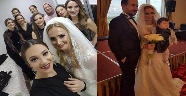 Dilek ve Ömer'in düğününe konuk yağdı