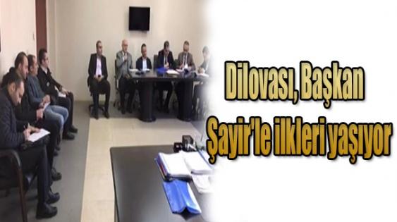 Dilovası, Başkan Şayir'le ilkleri yaşıyor