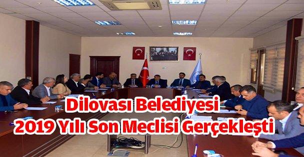 Dilovası Belediyesi 2019 Yılı Son Meclisi Gerçekleşti