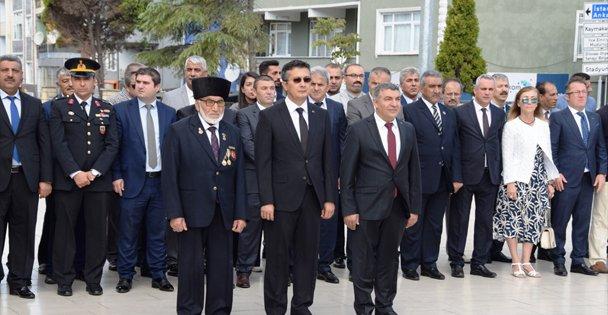 """Dilovası'nda '19 Eylül Gaziler Günü"""" Kutlandı"""