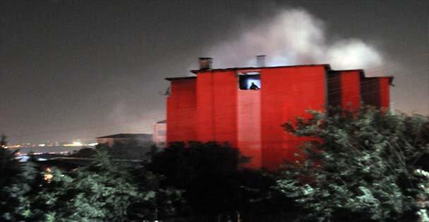 Dilovası'nda ev yangını