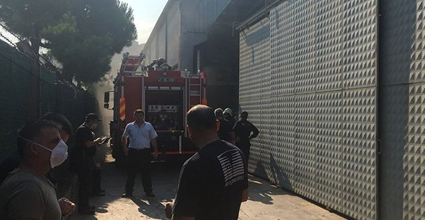 Dilovasında fabrika yangını!