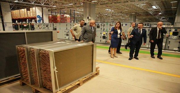 Dilovası'nda klima santrali üretim fabrikası açıldı