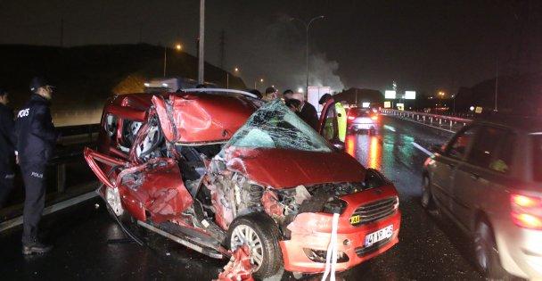 Dilovası'nda Trafik kazası: 1 ölü, 5 yaralı