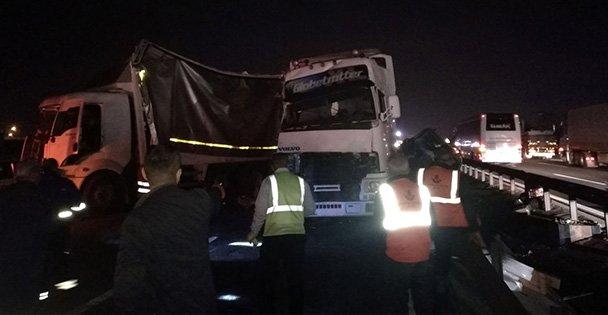 Dilovası'nda zincirleme trafik kazası