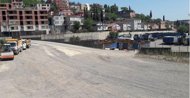 Dilovası'ndaki Tır Parkı eski güzergâhına alındı