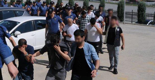 Dolandırıcılık operasyonunda 12 tutuklama