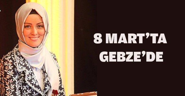 Dünya kadınlar gününde Gebze'de