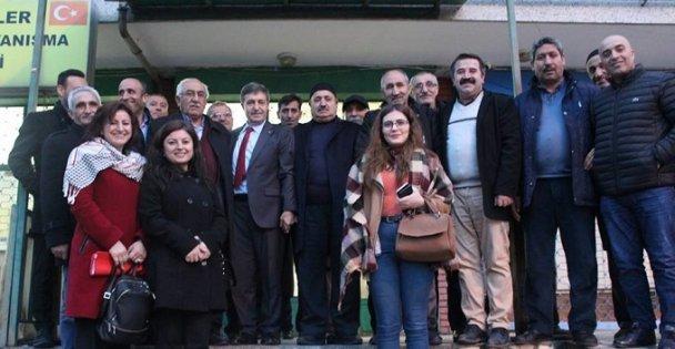 Dursun'dan Bitlisliler Derneği'ne ziyaret