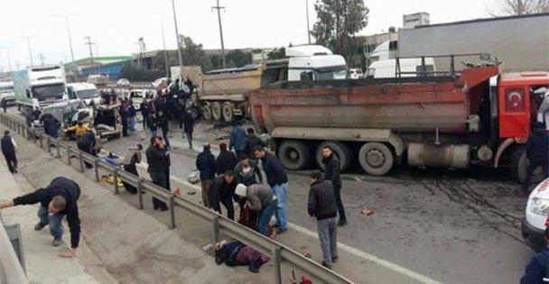 Gebze'de Zincirleme Kaza: 1 ölü