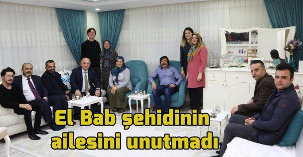 El Bab şehidinin ailesini unutmadı