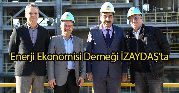 Enerji Ekonomisi Derneği İZAYDAŞ'ta