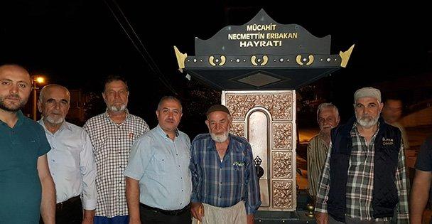 Erbakan Hoca adına hayrat çeşmesi