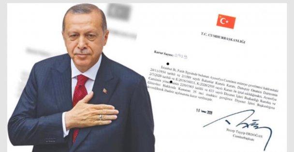 Erdoğan 'Tüm insanlığa hayırlı olsun'