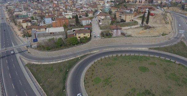 Eynerce Kavşağı İstanbul çıkışına geçici güzergâh