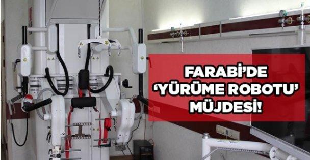 Farabi'de ''Yürüme Robotu'' müjdesi!