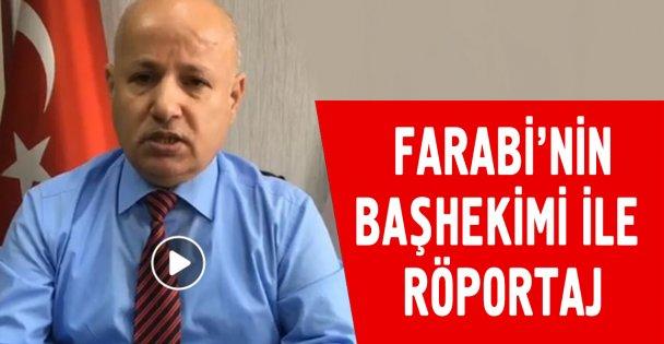 Farabi'nin başhekimi canlı yayında