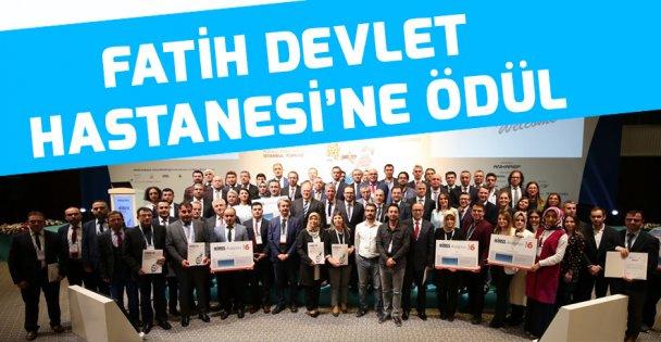 Fatih Devlet Hastanesi'ne ödül