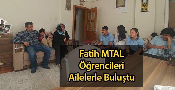 Fatih MTAL Öğrencileri Ailelerle Buluştu