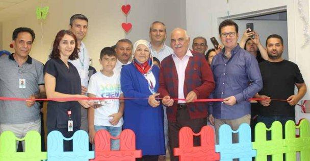 Fatih'te çocuk servisine oyun alanı!