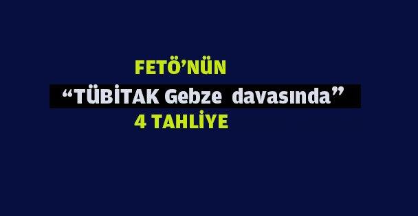 FETÖ Tübitak davasında 4 tahliye