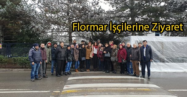 Flormar İşçilerine Ziyaret