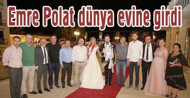 Gazeteci Emre Polat dünya evine girdi