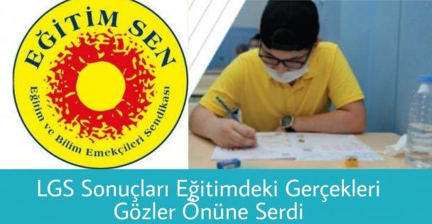Gebze Eğitim-sen'den LGS açıklaması