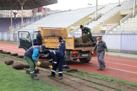 Gebze Stadındaki Yenileme Çalışmalarına Başlandı