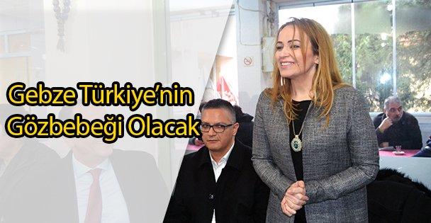 Gebze Türkiye'nin Gözbebeği Olacak