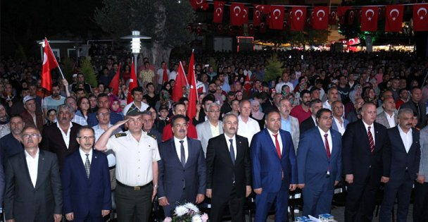 Gebze'de 15 Temmuz Nöbeti