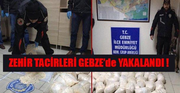Gebze'de 40 Milyon Değerinde Uyuşturucu !