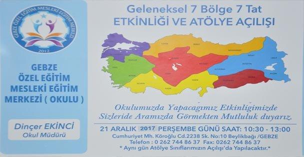 Gebze'de 7 bölge 7 tat etkinliği