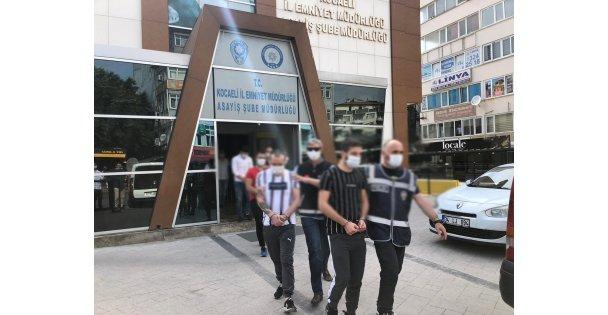 Gebze'de aranan 5 hükümlü yakalandı