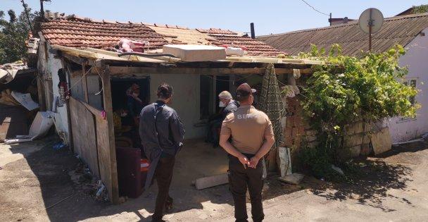 Gebze'de bir sokak karantinaya alındı