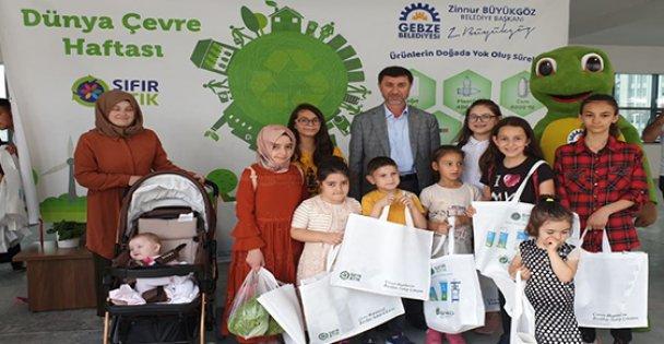 Gebze'de Dünya Çevre Günü etkinliği