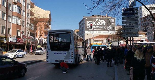 Gebze'de halk otobüsünün çarptığı 75 yaşındaki kadın öldü